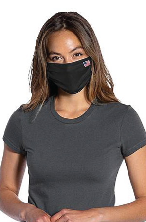 Port & Company PCFM21 Disposable Cotton/Poly Face Cover