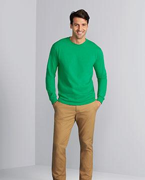 Gildan G240 Adult Ultra Cotton® 6 oz. Long-Sleeve T-Shirt
