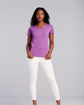 Gildan G500VL Ladies'  5.3 oz. V-Neck T-Shirt