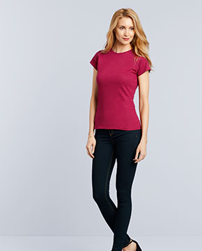 Gildan G640L Ladies' Softstyle® 4.5 oz. Fitted T-Shirt