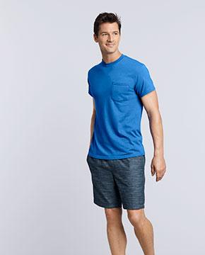 Gildan G830 Adult 5.5 oz., 50/50 Pocket T-Shirt